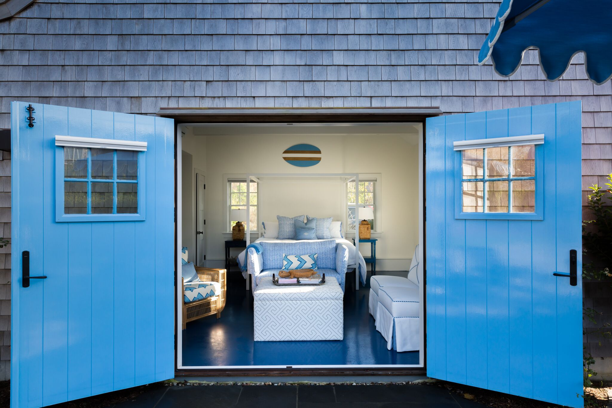 nantucket interior design pool house Melanie gowen